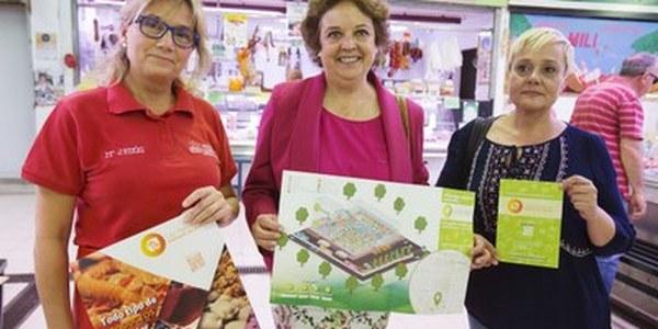 (02/06/2017)El Ayuntamiento cofinancia un proyecto digital de los placeros del mercado Las Palmeritas que incluye una web con tienda online