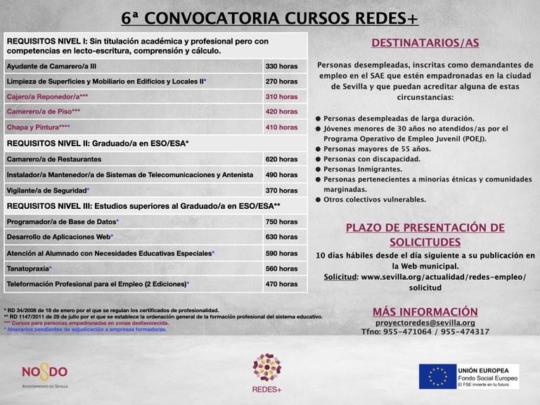 CARTEL 6ª convocatoria cursos REDES+.001 (1).jpeg