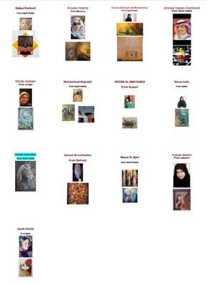art exhibition in sevilla_artistas árabes.JPG