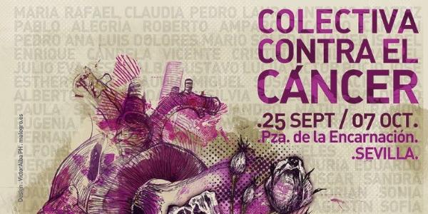 Exposición colectiva contra el cáncer