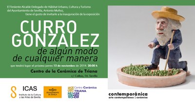 """Exposición: """"De algún modo, de cualquier manera"""", Curro González"""