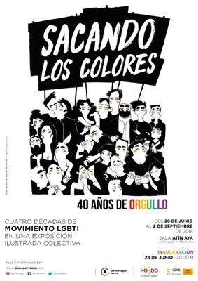 """Exposición """"Sacando los colores. 40 años de Orgullo"""""""