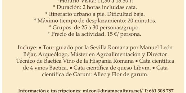 Food Tour Científico por la Sevilla Romana