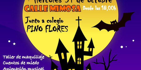 Halloween infantil en el distrito Macarena
