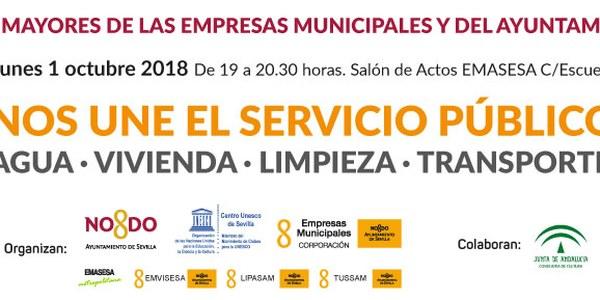 Homenaje a los mayores de las empresas municipales y del Ayuntamiento de Sevilla