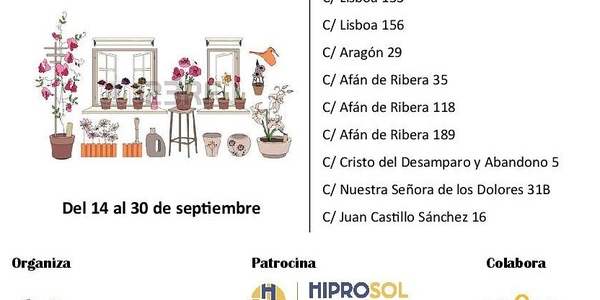 I Concurso de balcones y fachadas - Velá del Cerro del Águila