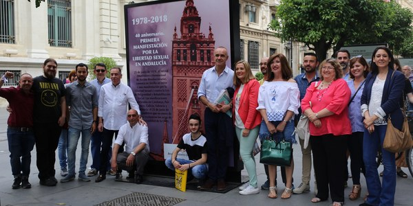 Exposición '40º Aniversario de la primera manifestación por la Libertad Sexual en Andalucía'