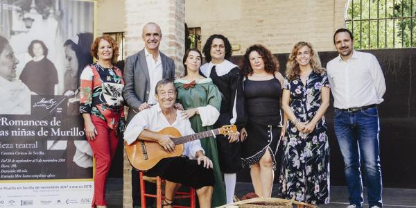 """Teatro: """"Los romances de las niñas de Murillo"""""""