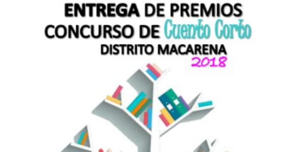 Entrega de premios del concurso de cuentos - Distrito Macarena