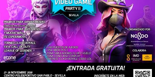 Videogame Party Sevilla 2018