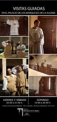 Visitas teatralizadas en el Palacio de los Marqueses de la Algaba
