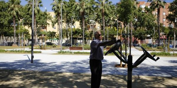 (01/07/2017) Abuelos y nietos compartirán actividades en el nuevo parque Juan Antonio Cavestany durante el mes de julio dentro del programa 'Un verano diferente'