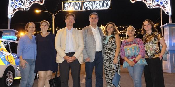 (01/07/2017) La Velá de San Pablo pone fin a los actos conmemorativos del 50 aniversario del barrio organizados por el Distrito San Pablo-Santa Justa