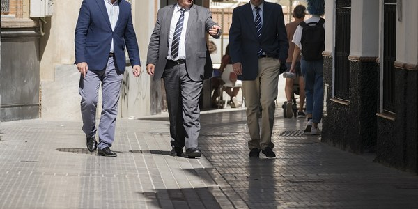 (03/10/2017)  El Ayuntamiento finaliza las obras de repavimentación y reordenación de la calle Amargura, en el Distrito Casco Antiguo
