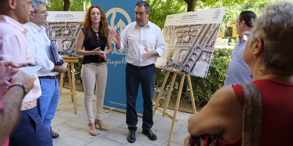 (06/08/2017) El Ayuntamiento invertirá 400.000 euros en la reurbanización, eliminación de barreras arquitectónicas y renovación de las redes de Emasesa en la Barzola en el distrito Macarena