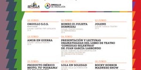 (09/06/2017) Sevilla acoge la I Muestra de Teatro con Orgullo que convertirá la ciudad en el referente teatral LGTBI del sur de Europa