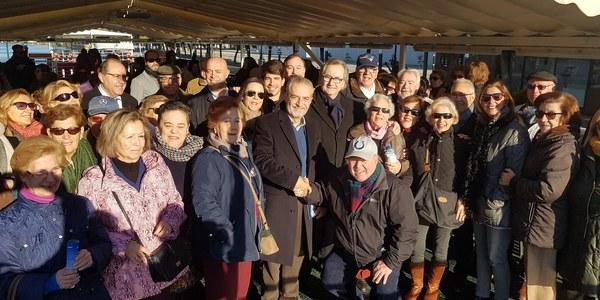 1.650 usuarios de talleres municipales realizarán una visita por el río y un espectáculo flamenco de forma gratuita