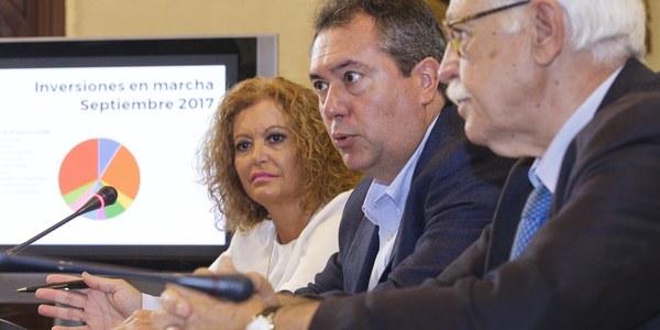 (1/9/2017)  El Ayuntamiento tiene en marcha más de 150 proyectos con un volumen de inversión pública de 93,4 millones de euros