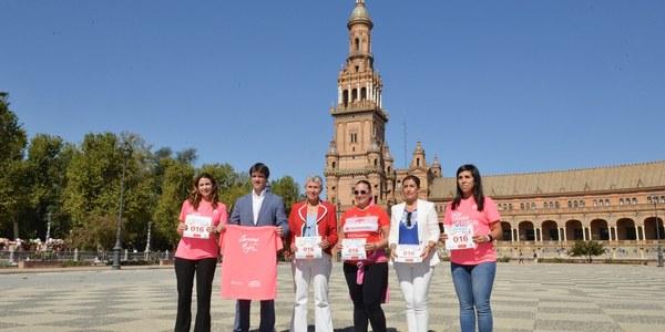 10.000 mujeres participarán en la Marea Rosa de la XII Carrera de la Mujer, que vuelve a la Plaza de España