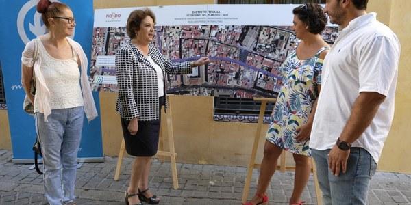 (11/08/2017) El Distrito Triana y Emasesa iniciarán en otoño las obras de renovación de las redes de las calles Flota y Rodrigo de Triana y la reurbanización de la Plazuela de Santa Ana por un importe de 1,7 millones de euros