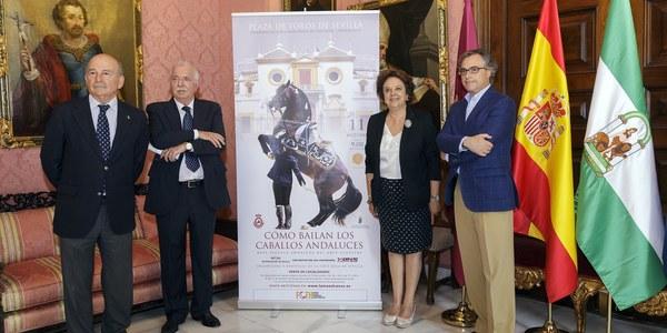 (11/10/2017) El espectáculo 'Cómo bailan los caballos andaluces' regresa a la Maestranza en el marco de los actos del 25º Aniversario de la Exposición Universal de Sevilla