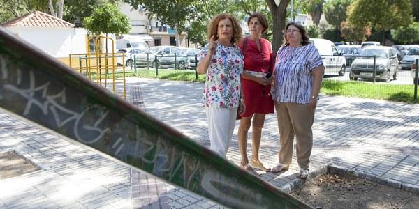 (12/08/2017) El Ayuntamiento remodelará los equipamientos de la Plaza de las Monjas en el Distrito Este-Alcosa-Torreblanca