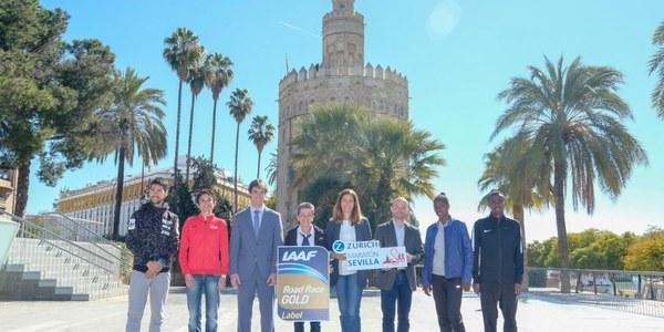 13.000 corredores estrenan el Gold Label del Zúrich Maratón de Sevilla