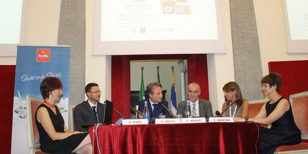 (13/07/2017) Sevilla presenta su oferta  turística en Turín en el marco  de un acuerdo de promoción recíproca que se ampliará en  otoño a la economía y la cultura