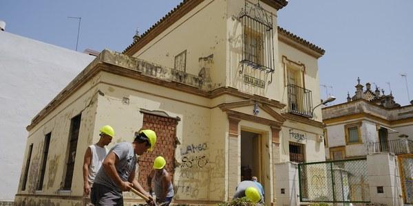 (15/07/2017) El Ayuntamiento recuperará el espacio público Villa Julita en  Nervión como lugar de encuentro vecinal y contenedor cultural