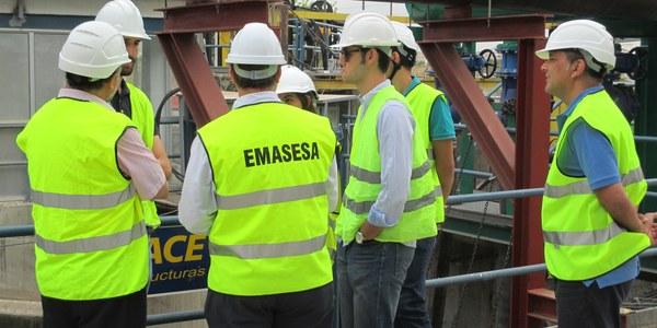 (16/12/2017) Finaliza la primera fase del programa de prácticas de la Cátedra del Agua de Emasesa