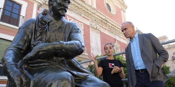 (19/09/2017) El Ayuntamiento invertirá casi 200.000 euros en el programa de 2017 de restauración y conservación con el que se intervendrá en una decena de esculturas y monumentos ubicados en  la vía pública