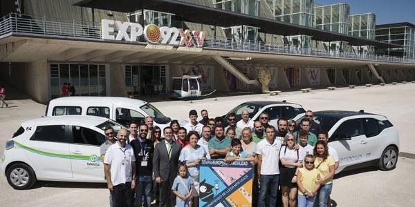 (17/9/2017) La relevancia del vehículo eléctrico, sus posibilidades en La Cartuja y las plataformas para compartir coches, protagonistas en la Semana de la  Movilidad este domingo