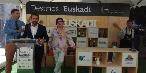'Destinos Euskadi' presenta su oferta turística en Sevilla desde hoy y hasta el domingo en la Plaza de la Encarnación