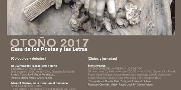 'Luces de diciembre. Poemas para la Navidad' culmina la temporada de otoño de Casa de los Poetas y las Letras
