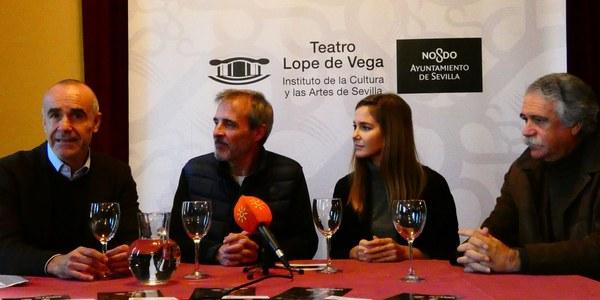 'Oleanna', de David Mamet y protagonizada por Fernando Guillén Cuervo y Natalia Sánchez, llega hoy al Teatro Lope de Vega