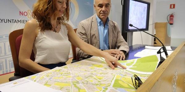 (21/07/2017) El Ayuntamiento impulsa el proceso de recepción de 65 zonas residenciales de seis barrios del Distrito Macarena