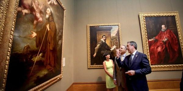 (21/09/2017) Espadas acuerda con el museo Getty de Los Ángeles promocionar el Año Murillo y la visita a Sevilla