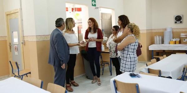 (25/09/2017) El Distrito Macarena destina más de 100.000 euros a obras de mejoras en los colegios Pío XII, Blas Infante y Pedro Garfias