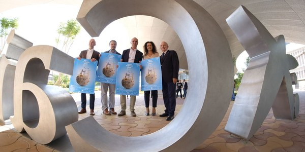 (25/09/2017) El Teatro Lope de Vega, el Espacio Santa Clara y el Jardín Americano se suman por primera vez como espacios del Ayuntamiento a la celebración de la Noche en Blanco