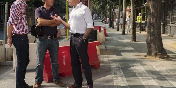 (26/07/2017) El Ayuntamiento inicia una segunda fase de inversión de mejora del carril bici en la Calle Recaredo por un importe de 115.000 euros