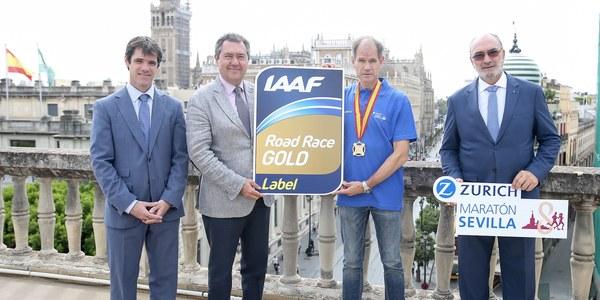 (28/09/2017) El Zurich Maratón recibe el sello IAAF Gold Label que le sitúa entre los 31 mejores del mundo y los 12 mejores de Europa