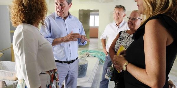 (28/8/2017)  El Ayuntamiento realiza una reforma integral del Centro de Servicios Sociales de Torreblanca demandada desde hace años por trabajadores y usuarios