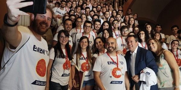 (29/07/2017) Más de 200 estudiantes participan en el Encuentro Nacional de Estudiantes de Matemáticas, que  se celebra en Sevilla