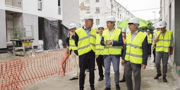 (29/5/2017) Las obras de las nuevas viviendas de Los Pajaritos se culminarán en octubre y se inicia la tramitación para declarar la zona como 'Área de Regeneración Urbana'