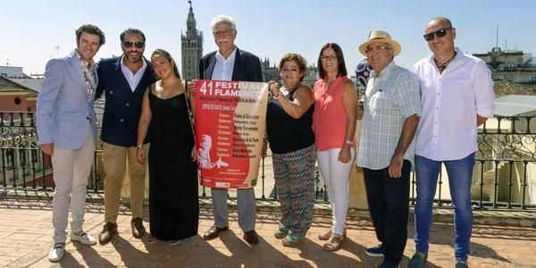 (31/8/2017) Pedro 'el Granaíno', María 'La Terremoto', Macarena de la Torre y Juan Murube protagonizan el cartel de la 41º edición del Festival Flamenco La Fragua de Bellavista