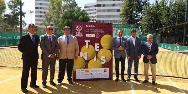 32 tenistas compiten en la Copa Sevilla ATP Challenger de Tenis del 1 al 8 de septiembre