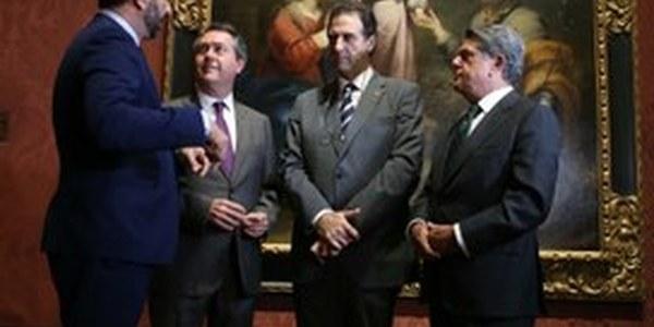 """(04/11/2016) El alcalde de Sevilla presenta en la National Gallery de Londres el Año Murillo, que pondrá a la ciudad """"en el foco del turismo cultural internacional"""""""
