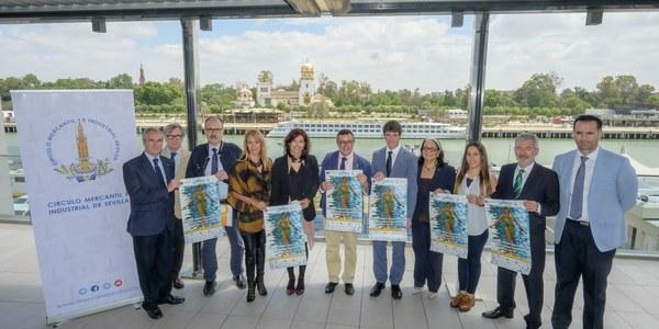 400 deportistas de 22 países participan en la Copa Comen de natación sincronizada de Sevilla
