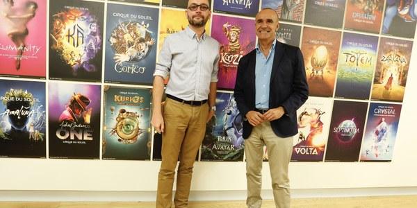 (5/10/2017)  El centro de recepción del turista de Marqués de Contadero acogerá la exposición 'Totem, behind the scenes' del Circo del Sol desde mañana hasta el 29 de octubre