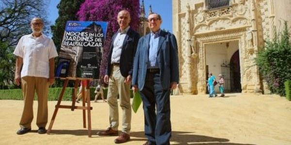 (5/6/2017) El ciclo 'Noches en los Jardines del Real Alcázar' comienza  el 15 de junio con 75 conciertos hasta el 9 de septiembre y  un acercamiento a Murillo a  través de la música barroca